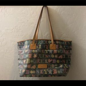 Dooney & Bourke Large Graffiti Tote